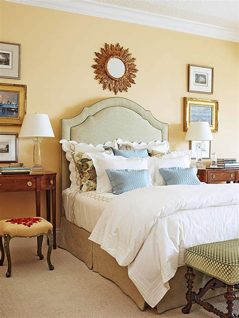 bedroom color ideas yellow better homes gardens