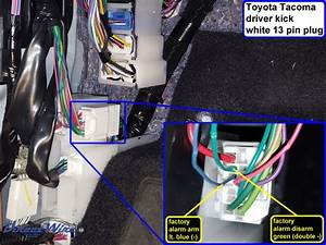 2005 Toyota Tacoma Alarm Wiring Diagram