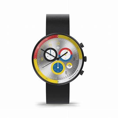 Chronograph Leather British Monaco Quartz Analog Watches