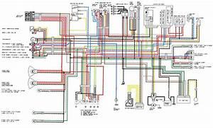 Zxr 400 L1-l4 Uk Full Colour Wiring   Race Loom Mods