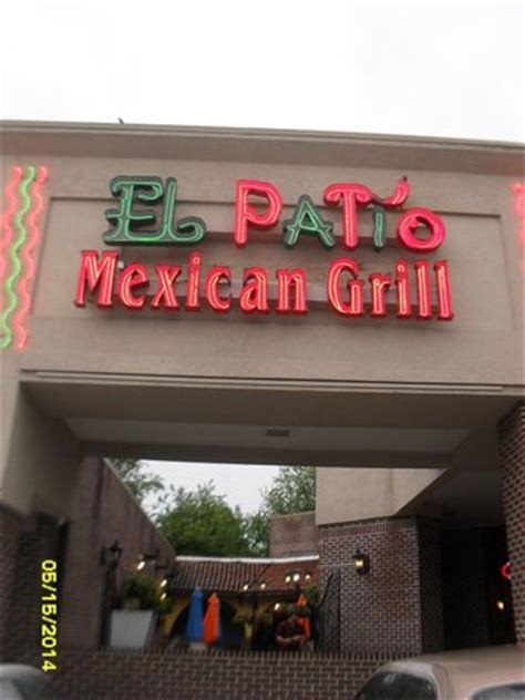 El Patio Mexican Grill Bristol Va front of restaurant foto di el patio mexican grill
