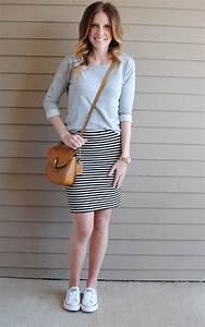 Best 25+ Striped skirt outfits ideas on Pinterest   Striped skirts Stripes definition and ...