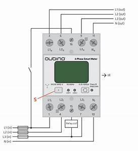 3-phase Smart Meter - Din Rail - Z-wave Device