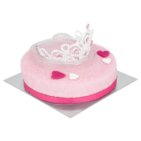 tesco princess tiara cake groceries tesco groceries