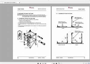 Manitowoc Potain Tower Crane Mc 235b Full Manuals