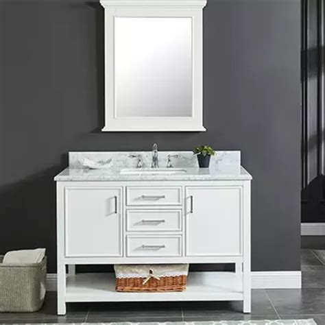 manhattan dove white vanity builder supply outlet