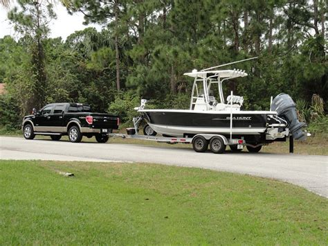 lets     pulling  boat page  ford