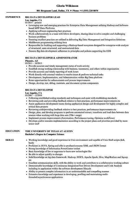 Hadoop Admin Resume by 10 Beispiel F 252 R Den Datastage Entwickler Lebenslauf
