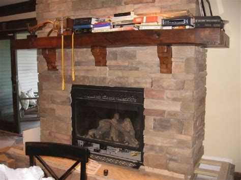 Fireplace Mantels With Corbels