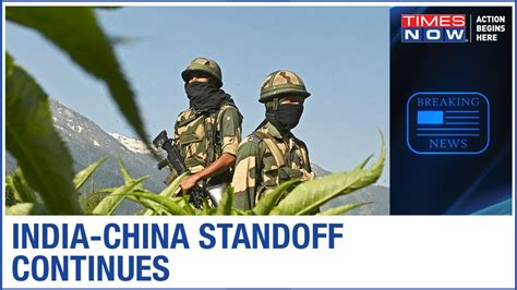 India-China tension simmers at Leh near LAC, Forces ready ...