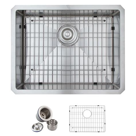 glacier bay all in one kitchen sink glacier bay all in one undermount stainless steel 23 in 9224