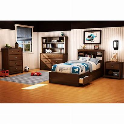 Bedroom Furniture Dresser Shore South Headboard Cherry