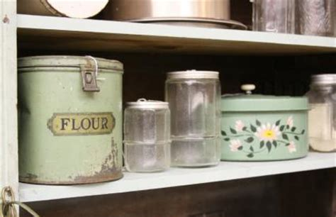 where to buy kitchen canisters vintage kitchen canisters lovetoknow