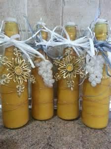 Christmas Coquito Bottles