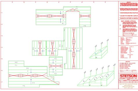 roof layouts roof insulation drawing
