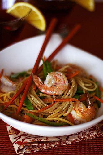 Happy Fertility Long Life Noodles with Shrimp