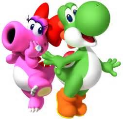 Mario Yoshi and Birdo
