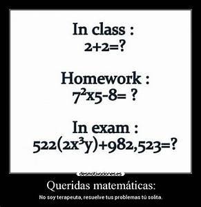 Math Test Funny Quotes. QuotesGram