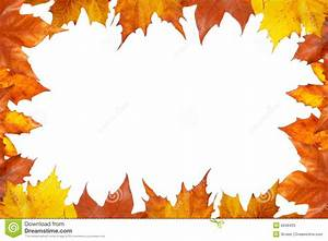 Cadre d'automne image stock. Image du décor, érable, bord ...