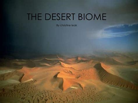 desert powerpoint