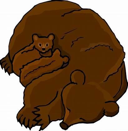 Bear Clip Clipart Bears Cartoon Grizzly Cub