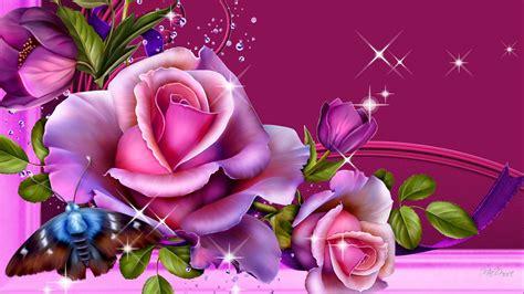 bright beautiful blossoms wallpaper allwallpaperin