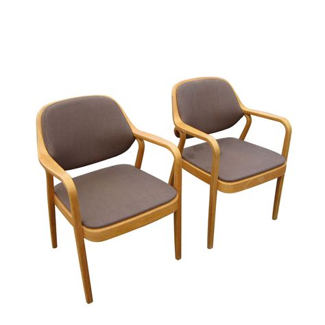 vintage knoll don petitt arm chair set original fabric ebay