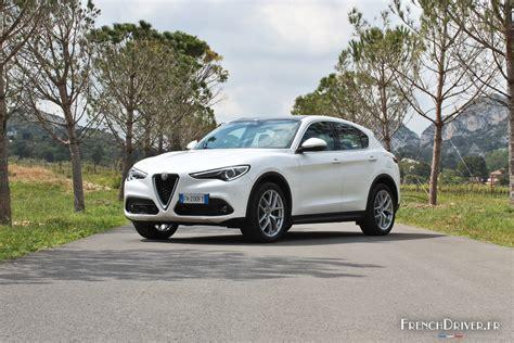 Essai Alfa Romeo Stelvio  Le Premier Suv Au Biscione