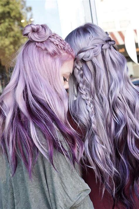 light purple hair the 25 best light purple hair ideas on