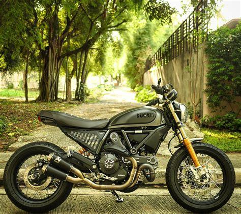 Modification Ducati Scrambler Icon by Ducati Scrambler Mods Cafe Racer Custom Bikeee Ducati