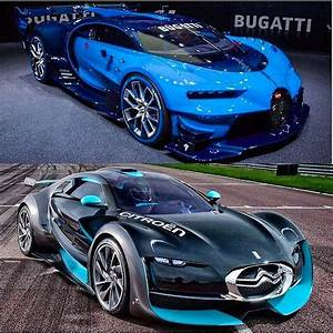 Bugatti Chiron Gt : vision gt or citroen survolt dreamexotics go follow thecarsyouwant tag your friends and ~ Medecine-chirurgie-esthetiques.com Avis de Voitures