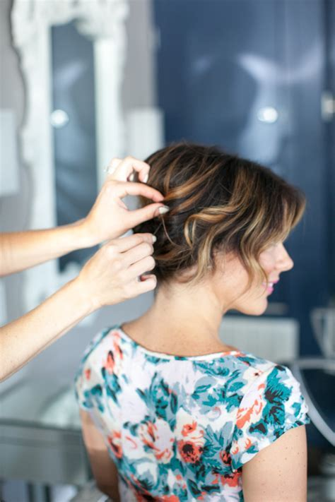 Pretty Simple :: Updo for Short Hair   Camille Styles