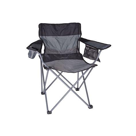 outdoor stansport apex deluxe oversize camp chair black