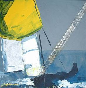 Segeltuch Mit ösen Auf Maß : classic boote auf segel malerei in acryl segelboot in action und regatta auf segeltuch ~ Orissabook.com Haus und Dekorationen