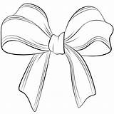 Bow Bows Coloring Hair Pages Christmas Drawing Cheer Clip Draw Printable Drawings Heart Getcoloringpages Valentine Paintingvalley sketch template