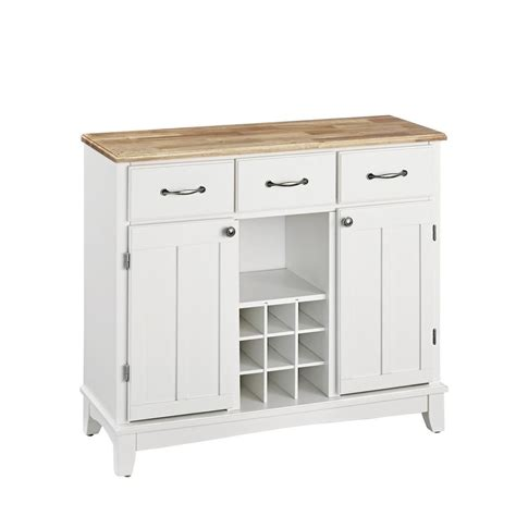 White Buffets And Sideboards by Home Styles White And Buffet With Wine Storage
