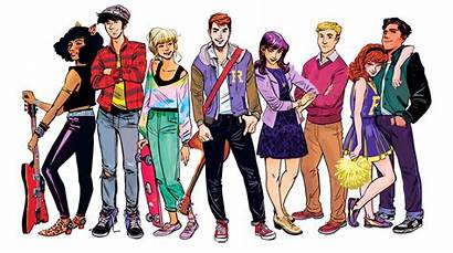 Riverdale Archie Cw Tv Comics Moose Betty