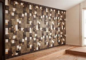 Soft wall tiles and decorative paneling functional