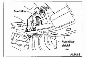 2013 Nissan Frontier Fuel Filter Location