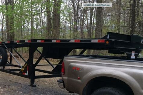 2013 Kaufman 3/4 Wedge Car Trailer