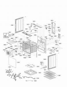Lg Lre3083bd  00 Electric Range Parts