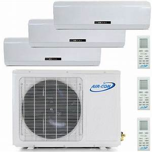 27000 Btu Tri Zone Ductless Mini Split Air Conditioner