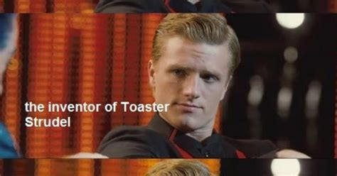 who invented toaster strudels toaster strudel the boy with the bread peeta hunger