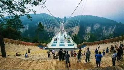 Bridge China Glass Longest Highest Closes Unveils