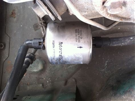89 Mustang Fuel Filter Location by Fuel Filter Installation Fuel Injected Mustangs 1983 To