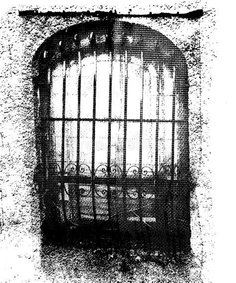 dungeon door stock vector illustration  locked dungeon