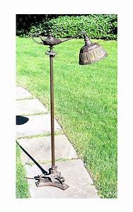 chasenantiquescom lamps tiffany studios 10quot gold With tiffany linenfold floor lamp