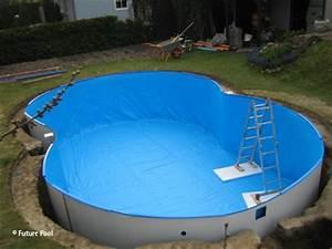Pool Mit Aufbau : poolfolie verlegen anleitung zum selbermachen pool blog ~ Sanjose-hotels-ca.com Haus und Dekorationen