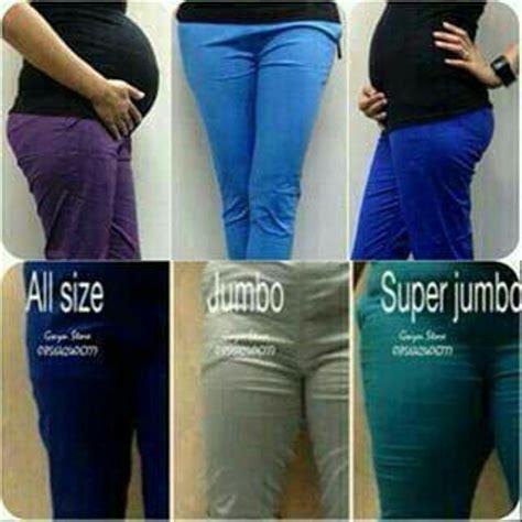 jual celana wanita katun stretch jumbo besar big size