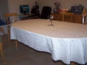 Nappe Pour Table : nappe ovale emois et moi ~ Teatrodelosmanantiales.com Idées de Décoration